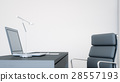 office, laptop, desk 28557193