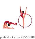 体操运动员 矢量 矢量图 28558600