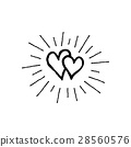 doodle, heart, love 28560576