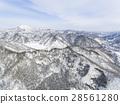 冬天的北海道山脈(札幌湖旭川航空攝影) 28561280