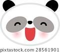 동물 팬더 캐릭터를위한 28561901