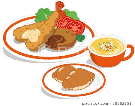 午餐虾炒 28562151