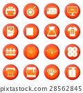 Printing icons vector set 28562845