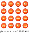 Transportation icons vector set 28562948