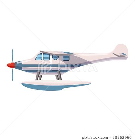 Hydroplane icon, cartoon style 28562966
