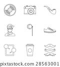 icon, vector, set 28563001