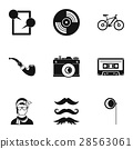 subculture, icon, vector 28563061