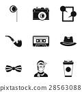icon, vector, set 28563088
