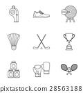 sports stuff icon 28563188