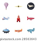 flying, icon, vector 28563643