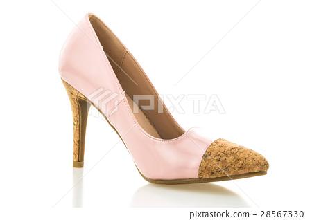 Beautiful elegance and luxury pink high heel 28567330