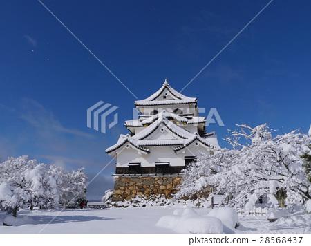 국보 히코 겨울 풍경 28568437