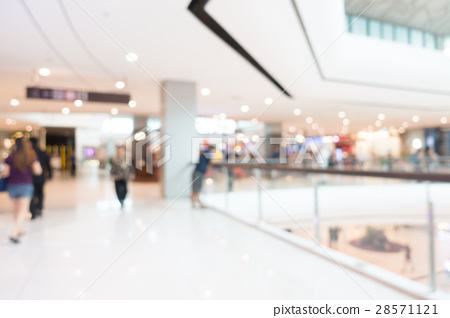 Abstract blur shopping mall 28571121