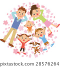 family, cherry, blossom 28576264