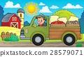 farm, truck, driving 28579071