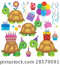 party, turtles, balloons 28579091