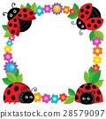 Stylized ladybugs theme image 2 28579097