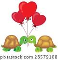 Valentine turtles theme image 2 28579108