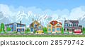 Small village landscape. 28579742