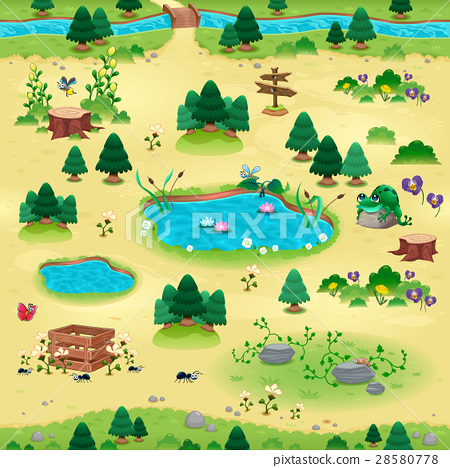 Natural tems for games and app 28580778