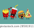 Fast food characters friendship 28581911