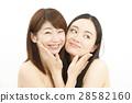 Two female beauty shots 28582160