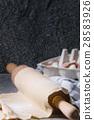 Fresh homemade dough for pasta 28583926