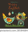 vector, chicken, egg 28584684