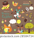 Animals celebrating Easter 28584734