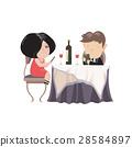 向量 向量圖 晚餐 28584897