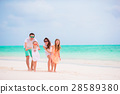 Young family on vacation 28589380