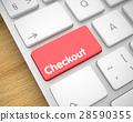 checkout keyboard 3d 28590355