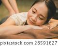 마사지, 맛사지, 여성 28591627