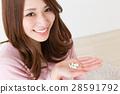 female, lady, woman 28591792