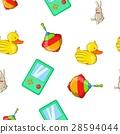 Toys kid pattern, cartoon style 28594044