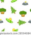 Nature pattern, cartoon style 28594084