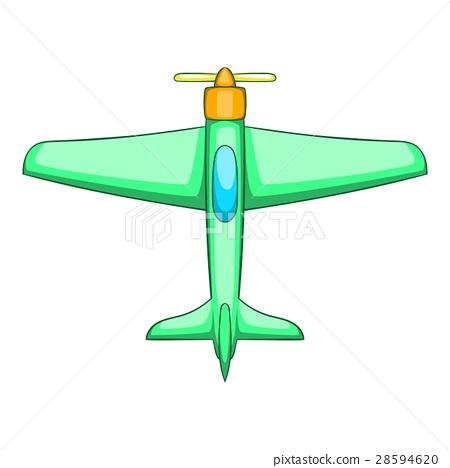 Plane icon, cartoon style 28594620