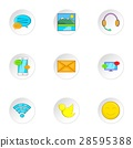 web, icon, vector 28595388