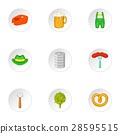 beer, icon, vector 28595515