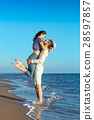 lovers, tropical, vacation 28597857
