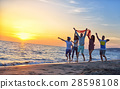 beach, group, people 28598108