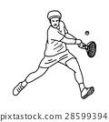 sketch player tennis 28599394
