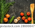 garlic tomatoes onion 28600647
