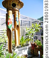 Bamboo wind chimes 28601983