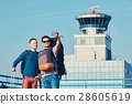 Airport, traveler, men 28605619