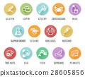 allergen icon food 28605856
