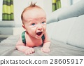 baby boy crawling 28605917
