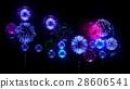 4K firework. Holidays fireworks. CG, 3d render 28606541