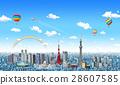 โตเกียว,เมือง,วิวเมือง 28607585