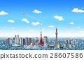 东京 市容 城市 28607586